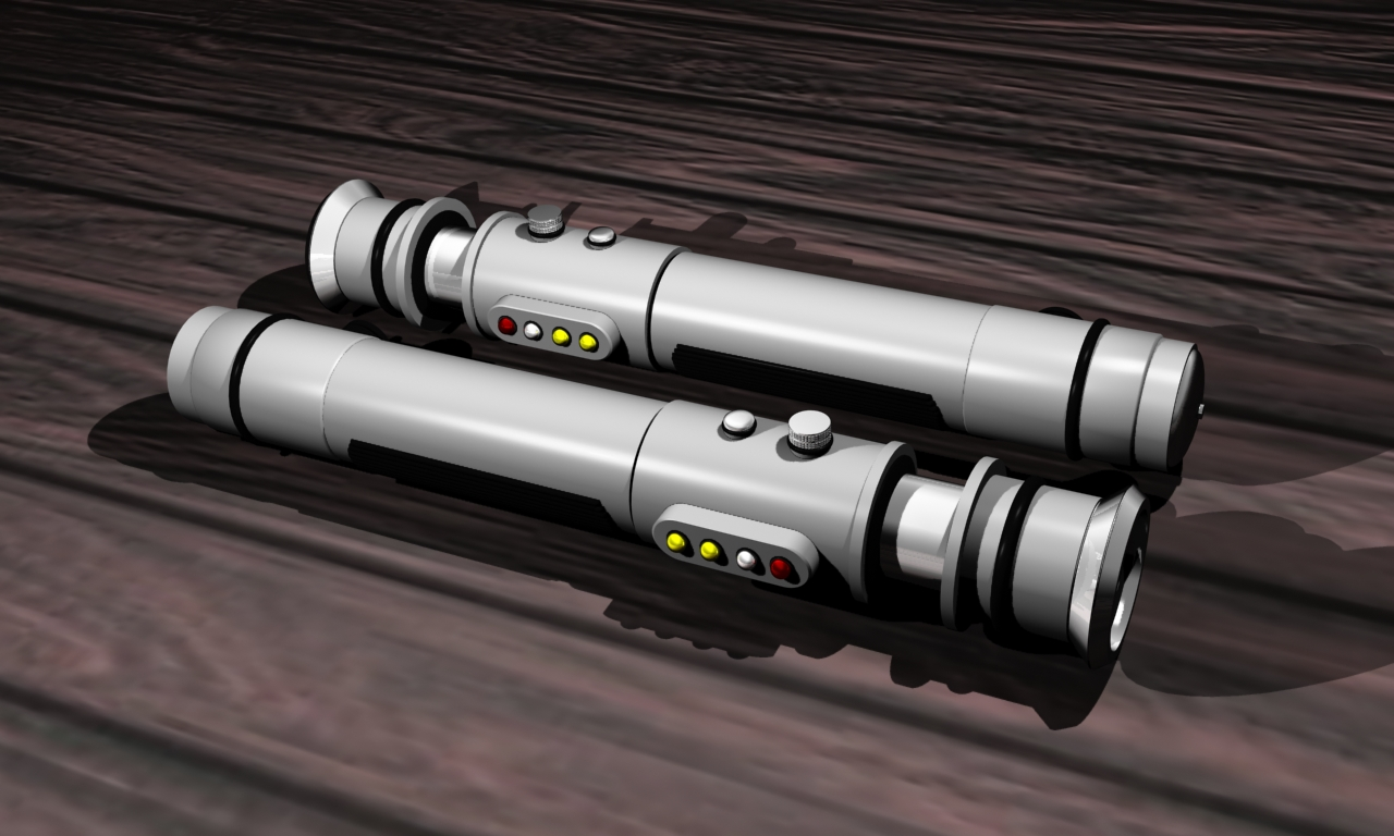 stormtrooper lightsaber 1 by dantrag tc digital art 3 dimensional art ...