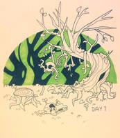 Goretober Day 1: Plants by Marmarmia