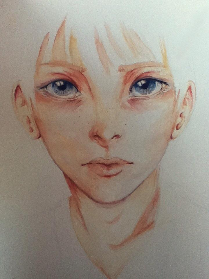First watercolor painting by rox28 on deviantart for My first watercolor painting