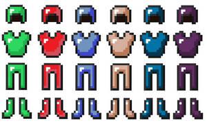 Minecraft - Custom Armor by painbooster2