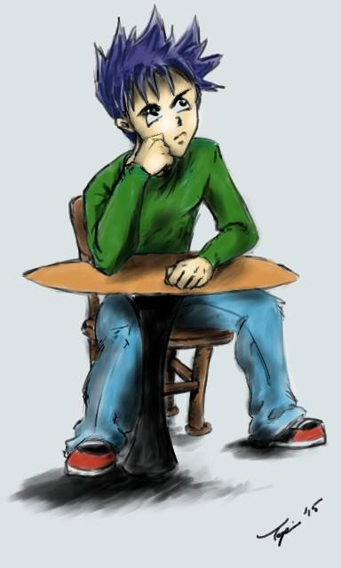Pondering by katykay92