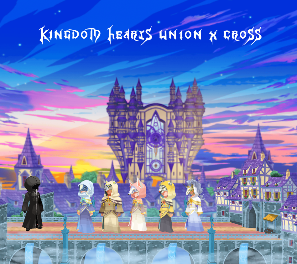 kingdom hearts union x Daybreak Town by KHUnionXFan on DeviantArt