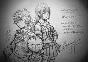 Kingdom Hearts union x Chirithy, Skuld, Ephemera