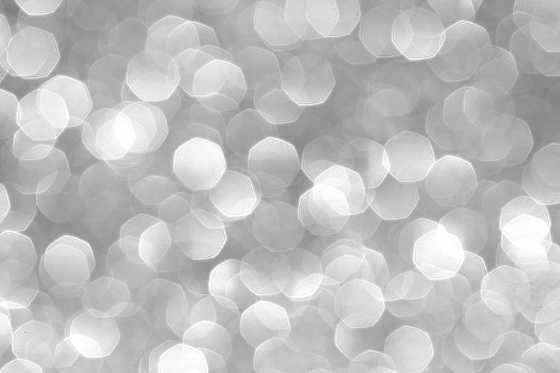 Silver Bokeh by Lady-Ro