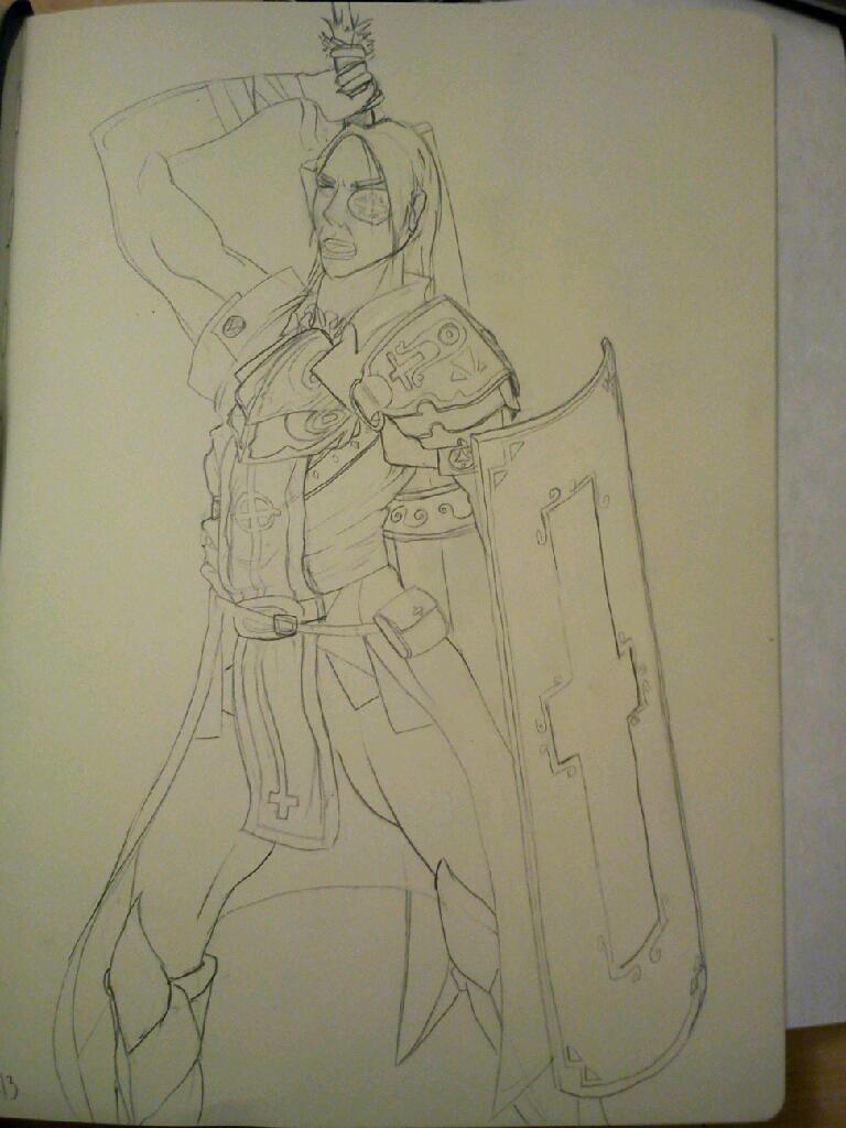 Templar WIP #2 by TaylorSch