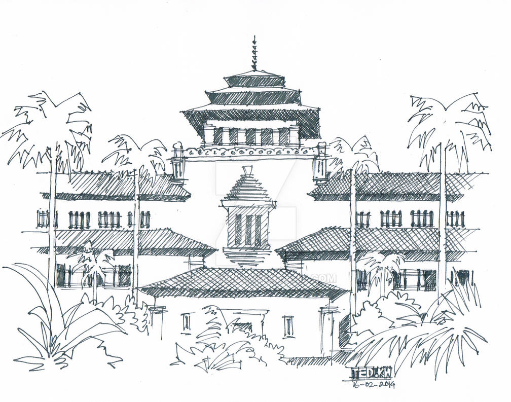 Gedung Sate Bandung By Ted Kw On DeviantArt