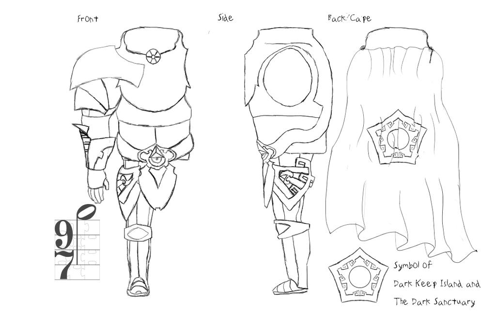 Brache Concepting -Full Armor- WIP by Naside