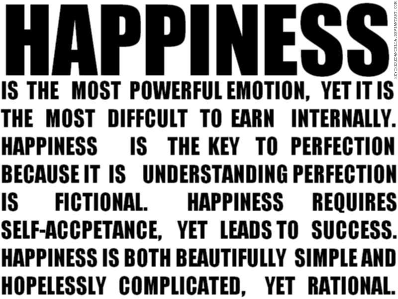 Happiness by heytheredaniella