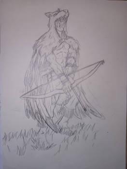 Hawkwolf hunter