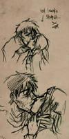 Kisses by raintalker