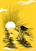 Sun by raintalker