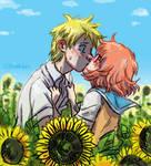 Sunflowers by raintalker