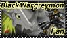 BkWargreymon Fan Stamp. by Teen-Zetsu