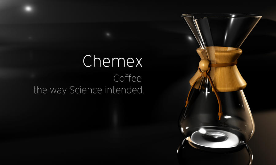 How Does Chemex Coffee Maker Work : Chemex Coffee render #1 by WormDog1 on DeviantArt