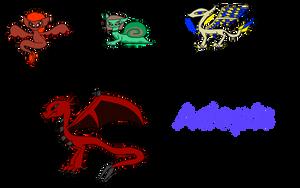 Dragon Adopts (Draw to adopt: OPEN) by HopefulDragon