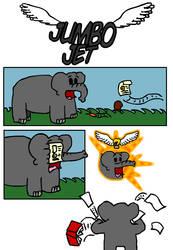 Jumbo Jet P1 by WizzJet