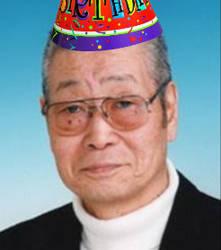 Happy Birthday Seizo Kato by MikeEmilStudio