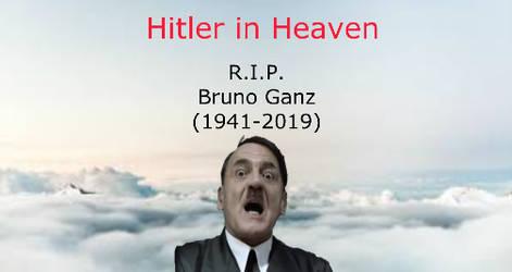 Hitler In Heaven (R.I.P. Bruno Ganz) by MikeEmilStudio