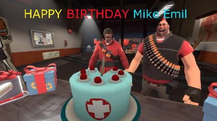 Happy Birthday Mike Emil (Me) by MikeEmilStudio