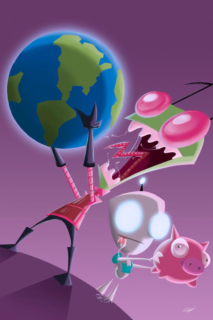 Invader Zim by DHumberto
