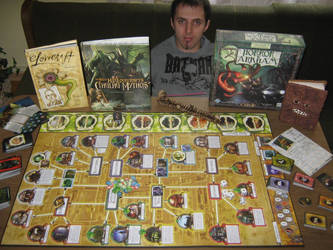Arkham Horror stuff and I by Fomoraig