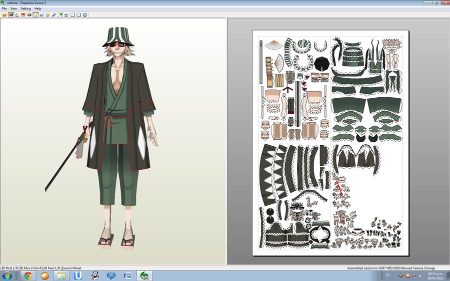 urahara_kisuke_papercraft_by_rexxkentrix-d4wjlai.png