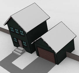South Park style house