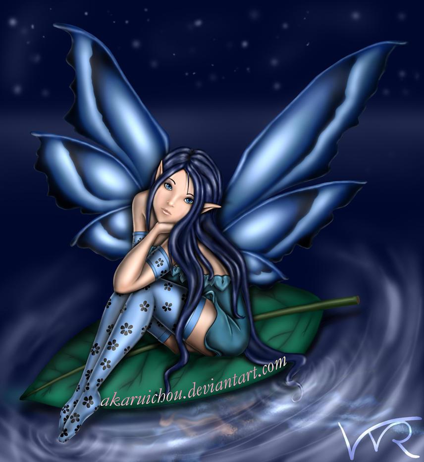 Blue Fairy by AkaruiChou