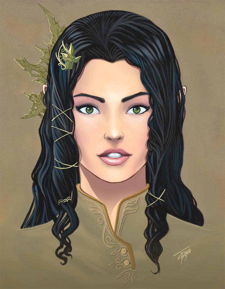 Arya Drottningu by duendefranco