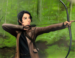 Katniss by duendefranco