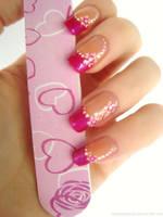 Pink Flowers by DancingGinger