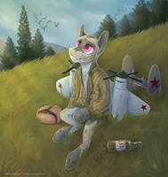 Quiet place [commission] by YaruGreat