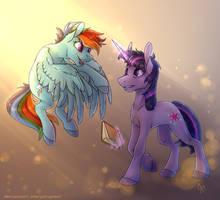 Hey, Twilight! by YaruGreat
