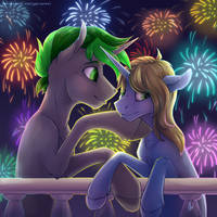 Night of a thousand lights by YaruGreat