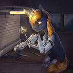 Cyber-hooves [commission]