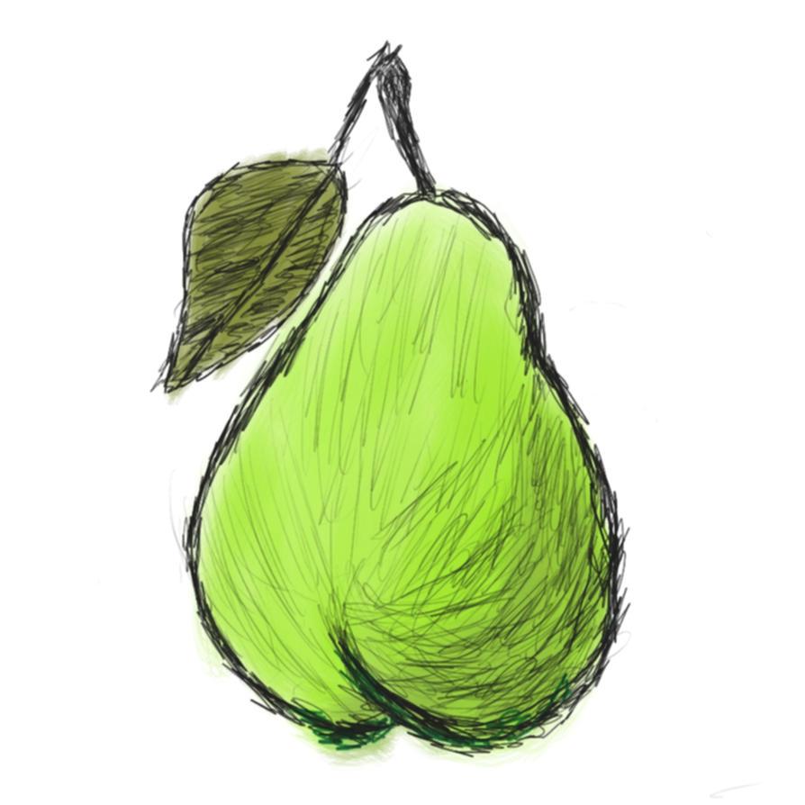 Pear by MykaStitcher