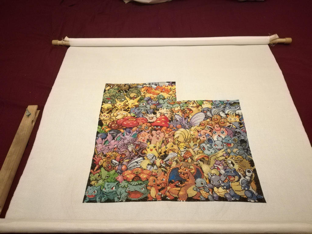 1st Gen Pokemon - 50% achieved by MykaStitcher