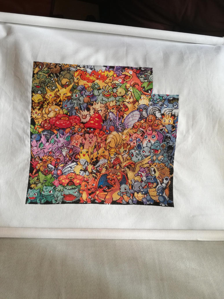 1st Gen Pokemon - 53% achieved by MykaStitcher