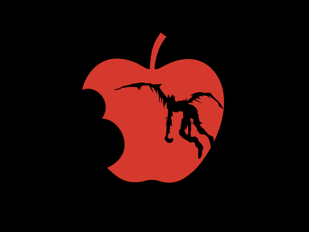 Death Note Apple Wallpaper by Medetrate on DeviantArt