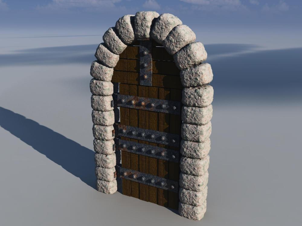 Castle Door by nitro912gr on DeviantArt