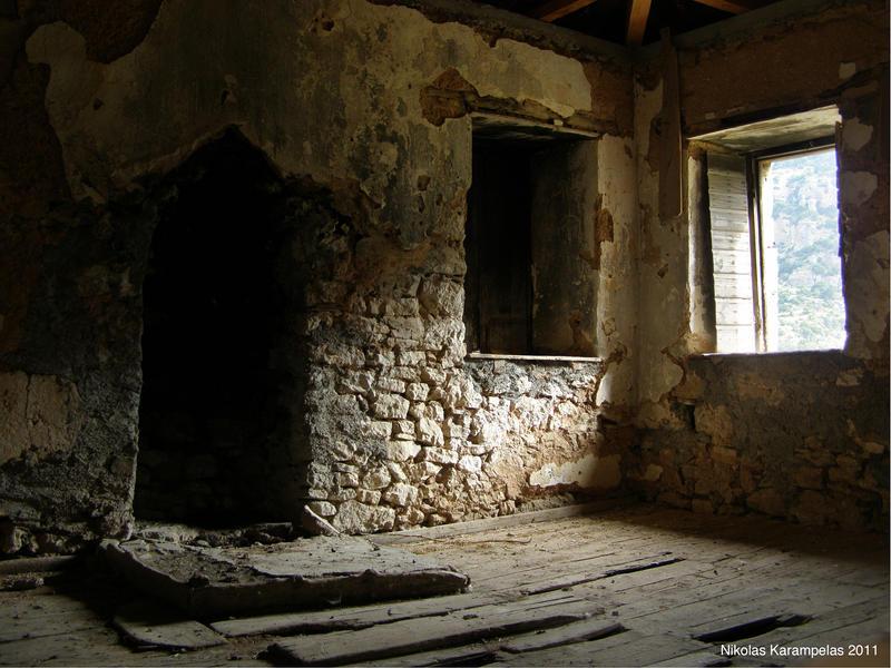 Abandoned winery