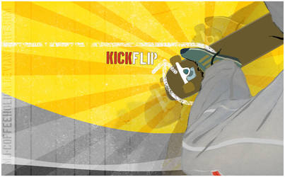 Kickflip by mj-coffeeholick