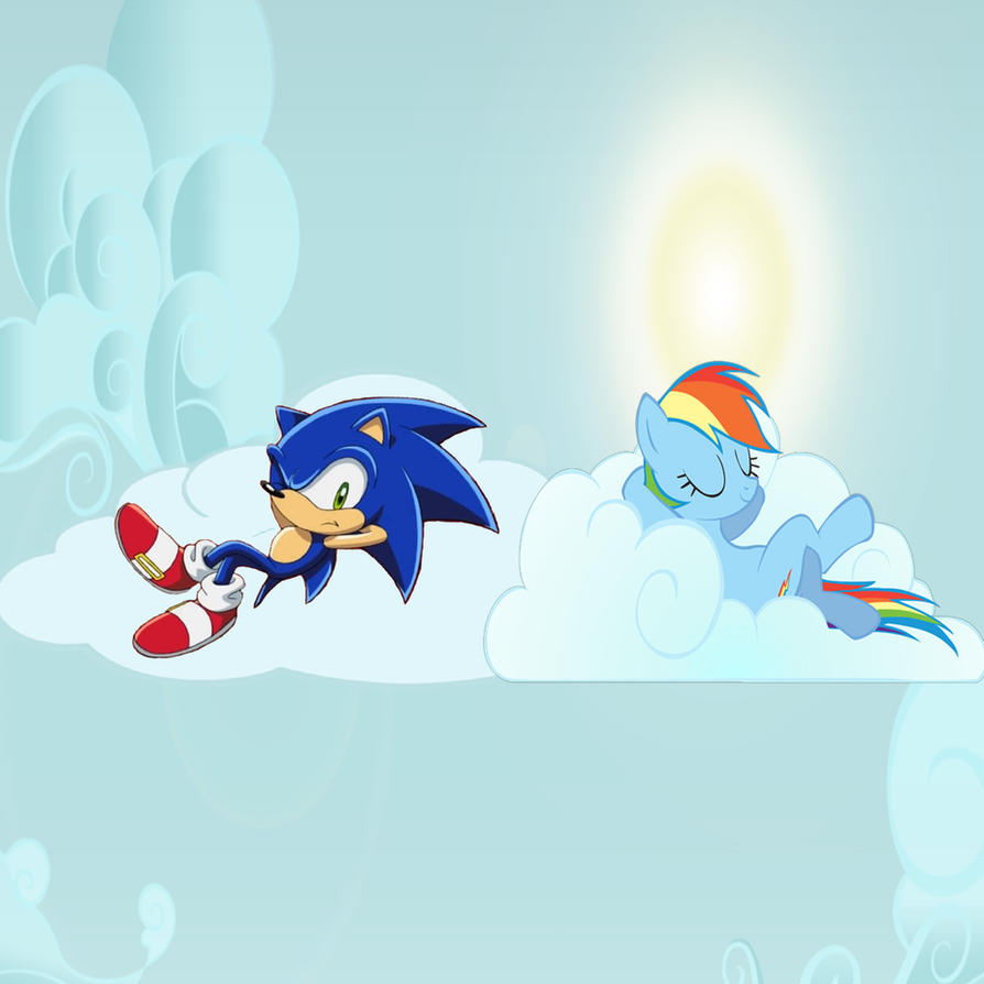 Sonic In Equestria by Nightfire3024