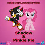 Shadow and Pinkie Pie