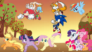 Sonic the Hedgehog and My Little Pony Crossover