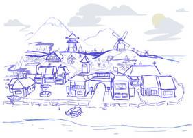 REDUX Concept Art: Karat Village