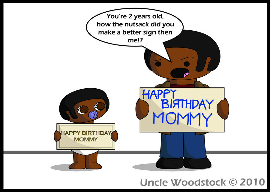 Txd Mums Birthday Card By Unclewoodstock On Deviantart