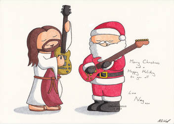 Christmas Card 2014 by UncleWoodstock
