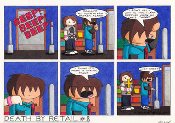 Death By Retail #8 by UncleWoodstock