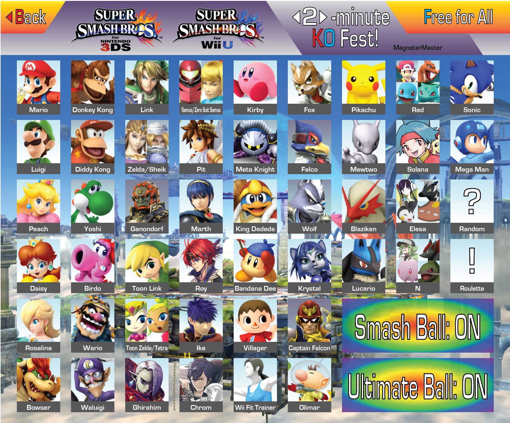 Which do you think is the least played character in smash ...